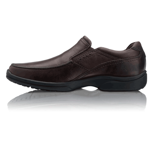 Kash Men's Slip On Shoes in Brown